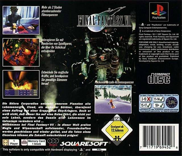 final 1 It is final fantasy 1, the game that they made without any precedence and have since revolutionized the genre for those who are expecting a streamlined gameplay.
