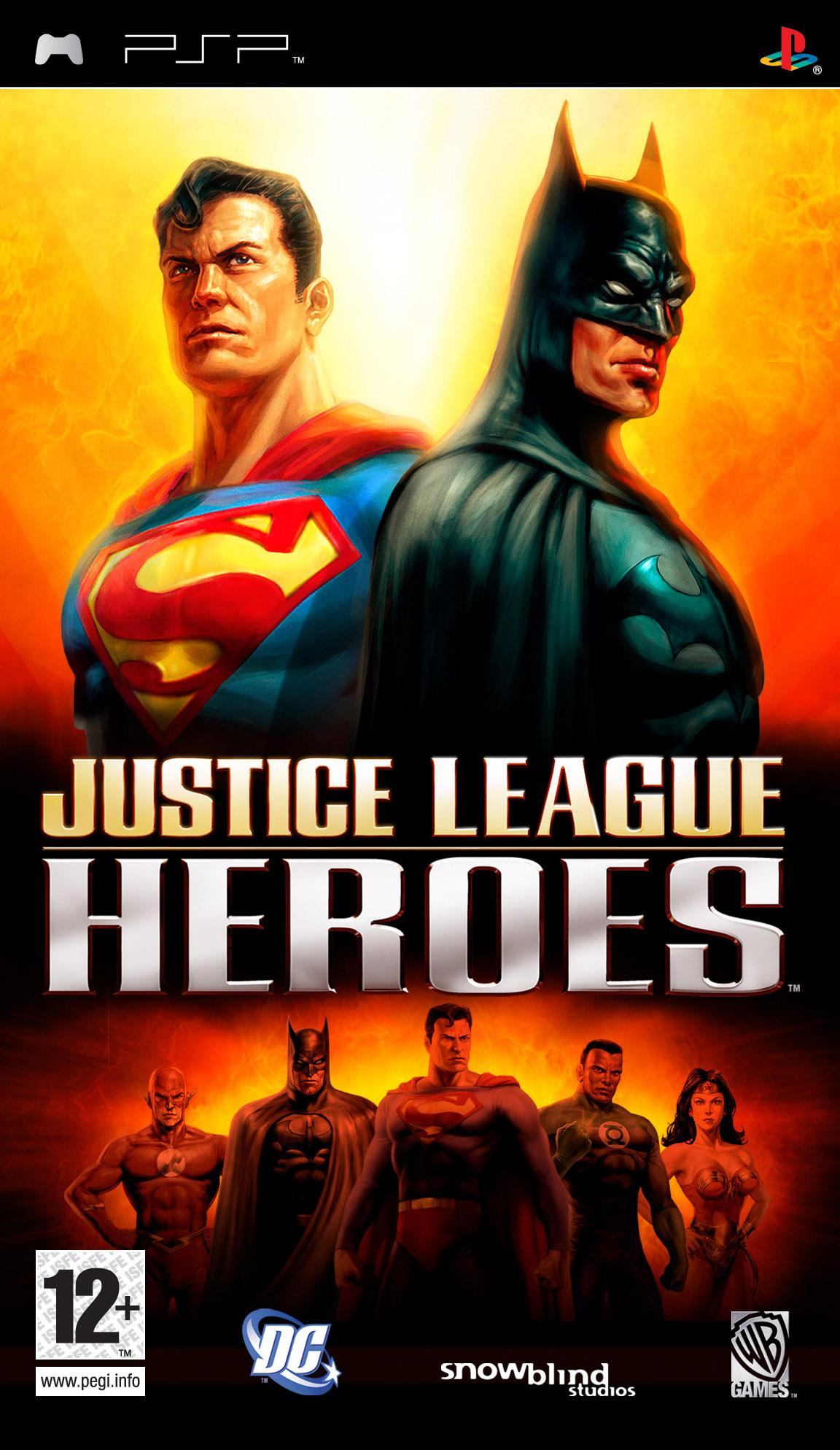 [PSP]Justice League Heroes [2006/ RUS/ENG]