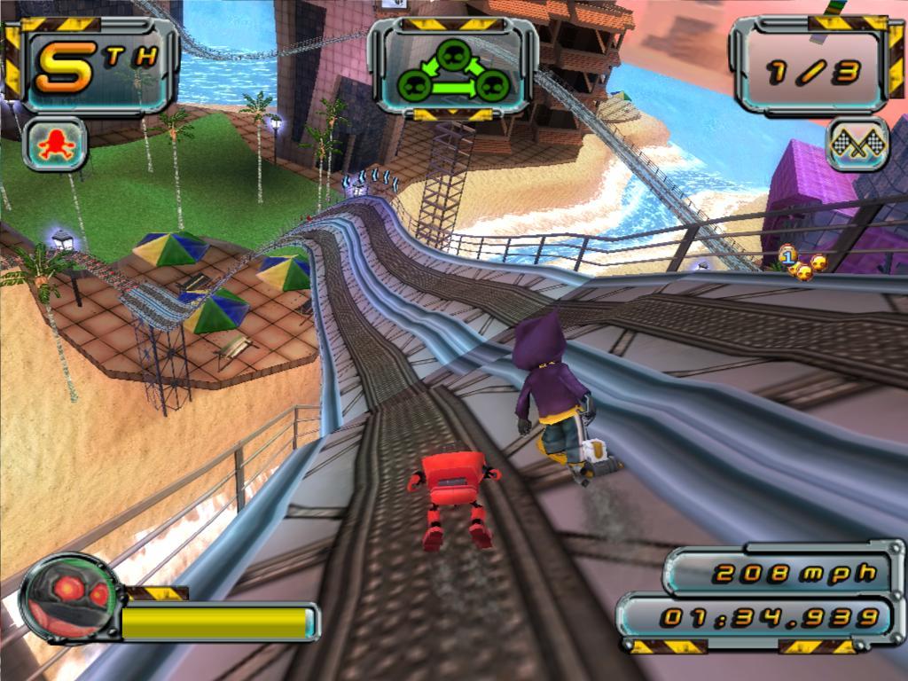 Screens Zimmer 5 angezeig: crazy frog racer 2 download