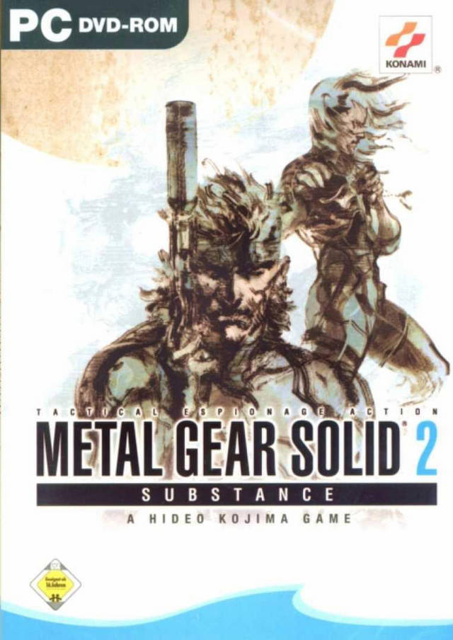 Metal Gear Solid 2 Substance (RUS) [Repack]