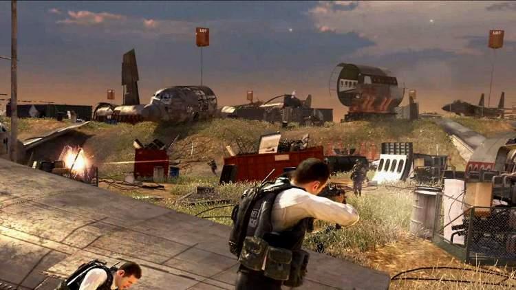 Кадр из игры Call of Duty: Modern Warfare 2.