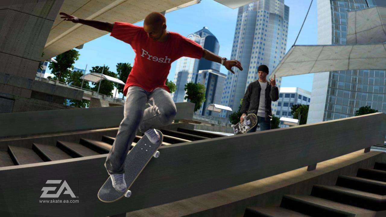 Skateboarding games
