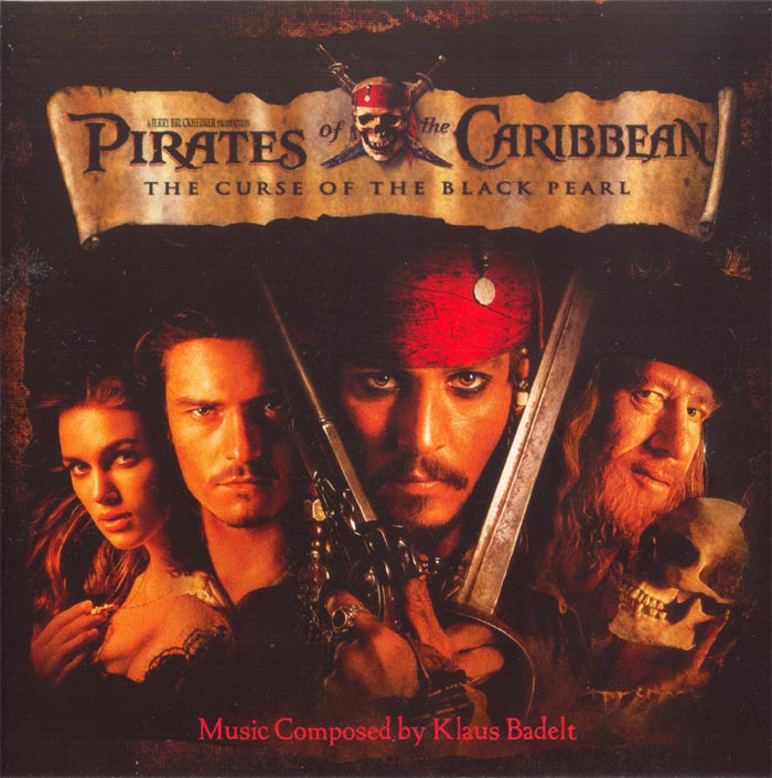 Pirates of the caribbean the curse of the black pearl walt disney