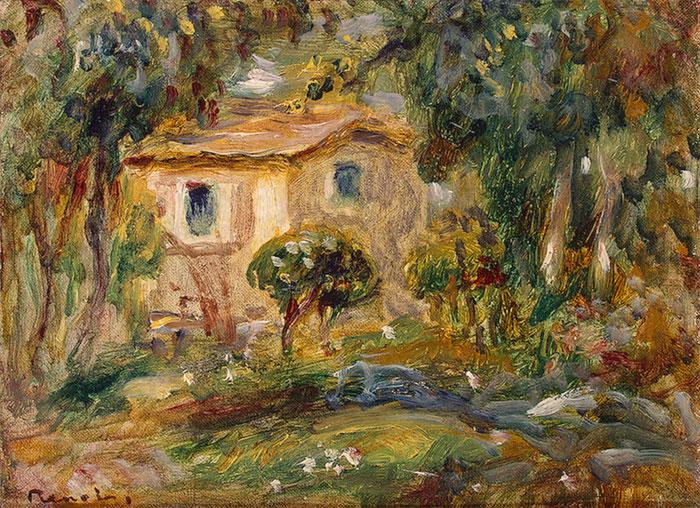 Пейзаж ле канне 1902
