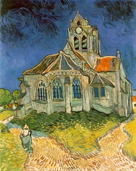 Церковь в овере 1890